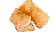 Chocolate-filled pastry